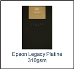 S450079 EPSON Legacy Platine Satin Paper 8.5 x 11  25 Sheets