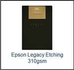 S450091 EPSON Legacy Etching Paper 8.5 x 11  25 Sheets