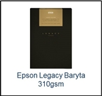 S450099 EPSON Legacy Baryta Smooth Satin Paper 17 x 22  25 Sheets