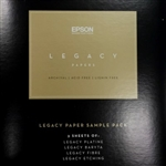 S450183 EPSON Legacy Sample pack 16 sheets 8.5 x 11