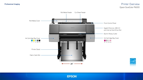 SCP6000SE Epson SureColor P6000 24 inch Printer Standard Edition With Epson  Instant Rebate