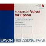 "EPSON Somerset Velvet 24"" x 30"" (3 sheets)  NO LONGER AVAILABLE- out of stock"