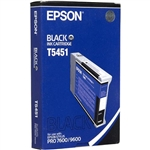 EPSON UltraChrome Black Ink, 110 ml, (2 Req'd), Stylus Pro 7600/9600 DYE