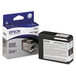 T580100 EPSON UltraChrome Photo Black Ink 80ml, Stylus Pro 3800/3880