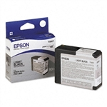 T580700 EPSON UltraChrome Light Black Ink 80ml, Stylus Pro 3800/3880