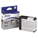 T580900 EPSON UltraChrome Light Light Black Ink 80ml, Stylus Pro 3800/3880