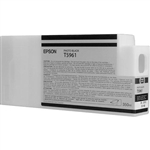 T596100 Epson Ultrachrome HDR Photo Black Ink, 350ml, Stylus Pro 7890/9890/7900/9900/7700/9700