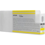 T596400 Epson Ultrachrome HDR Yellow Ink, 350ml, Stylus Pro 7890/9890/7900/9900/7700/9700