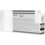 T642800 Epson Ultrachrome HDR Matte Black Ink, 150ml, Stylus Pro 7890/9890/7900/9900/7700/9700