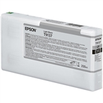 T913700 EPSON SureColor P5000 HDX  Light Black, 200ml ink cartridge
